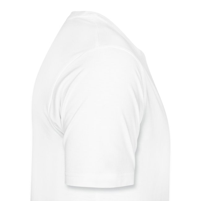 Men's Centred Heart White XXXL T-Shirt