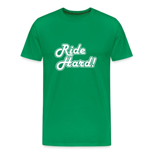 Ride Hard - Mannen Premium T-shirt