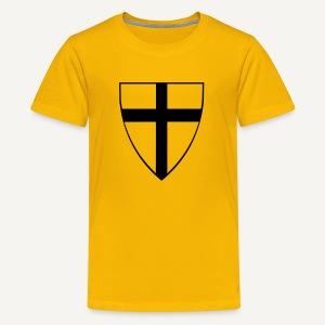 Koszulka krzyżacka 5 - Koszulka młodzieżowa Premium