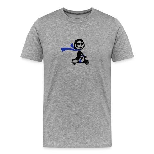 Scooter Cruizer - Men's Premium T-Shirt