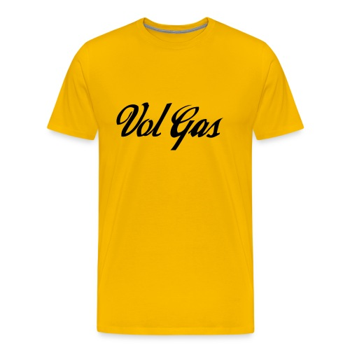 Vol Gas - Mannen Premium T-shirt
