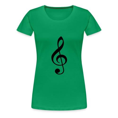 musical - Camiseta premium mujer