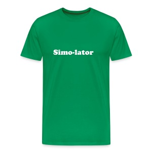 I am the Simo-lator - Men's Premium T-Shirt