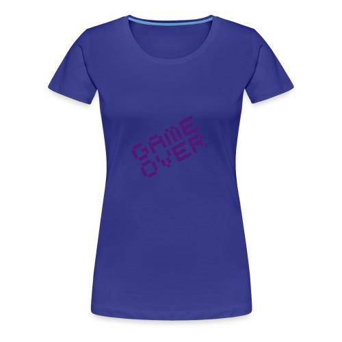 Koszulka damska koniec gry - Koszulka damska Premium