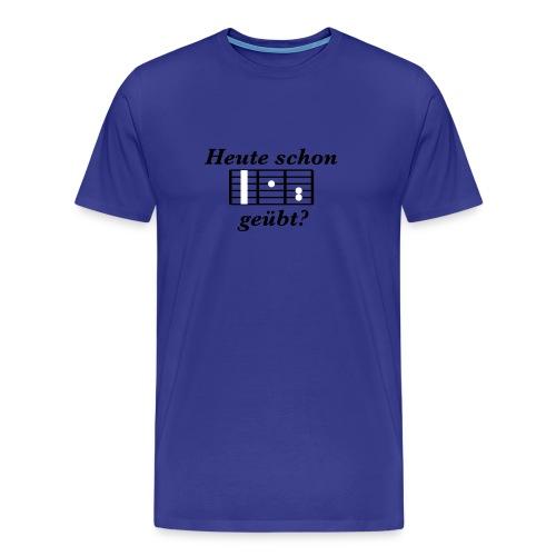 F-Dur - Glow In The Dark - Männer Premium T-Shirt