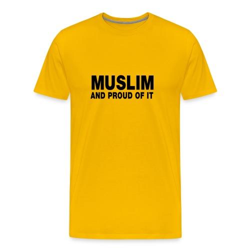 t- shirt homme confort jaune - T-shirt Premium Homme