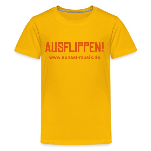 AUSFLIPPEN! - Teenager Premium T-Shirt