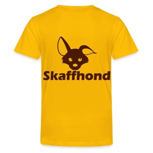 Skaffhond - Premium-T-shirt tonåring
