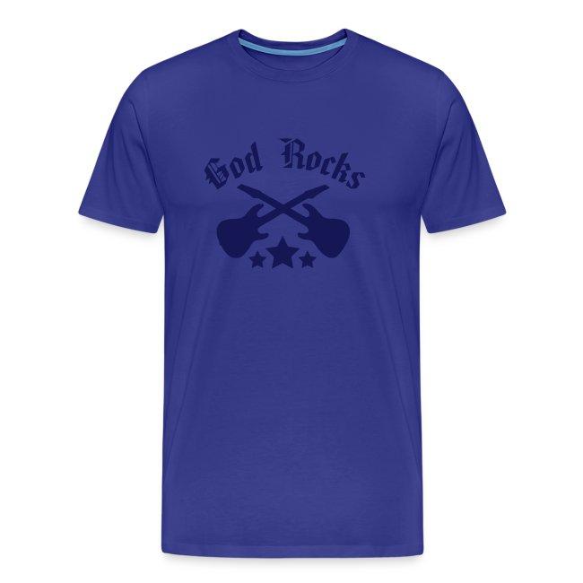 GOD ROCKS-blue navy (Boys)