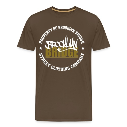 PROPERTY OF BROOKLYN  - T-shirt Premium Homme