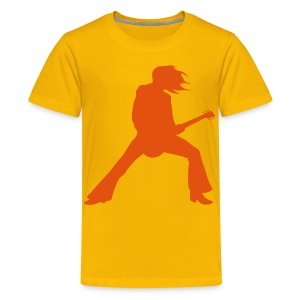 Kids Rockstar Top - Teenage Premium T-Shirt