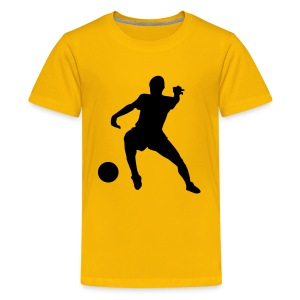 Kids Footie Top - Teenage Premium T-Shirt