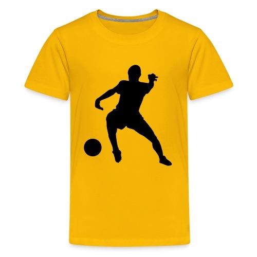 Kids Footie Top - Teenage Premium T-Shirt