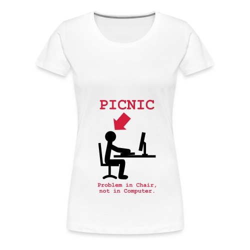 picnic pc - Maglietta Premium da donna