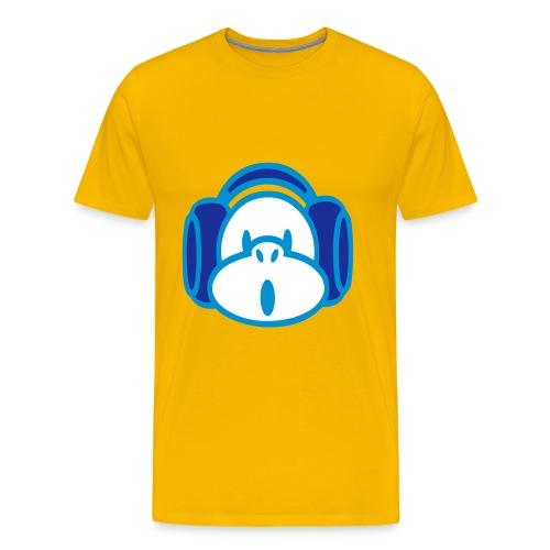 Monkii Busiiness - Herre premium T-shirt