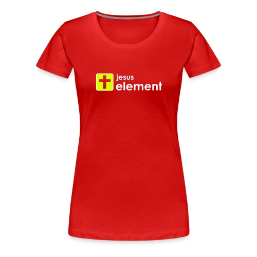 ELEMENT-red|light (Girls) - Frauen Premium T-Shirt