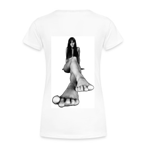 Bigfoot Girlshirt - Frauen Premium T-Shirt