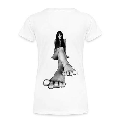 Bigfoot Girlshirt - Frauen Premium T-Shirt