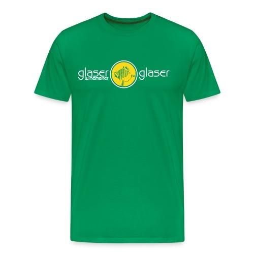 glaser & glaser winemaker retz frog - Männer Premium T-Shirt