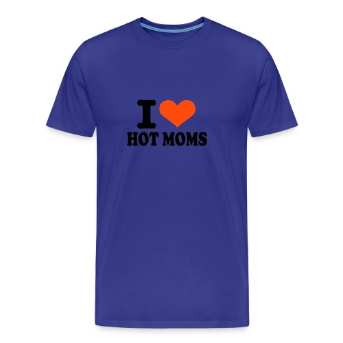 Toz Love hot mom - T-shirt Premium Homme
