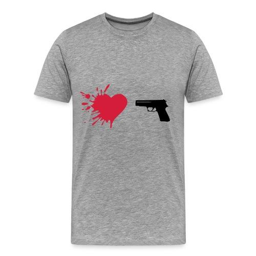 Tragedy - Herre premium T-shirt