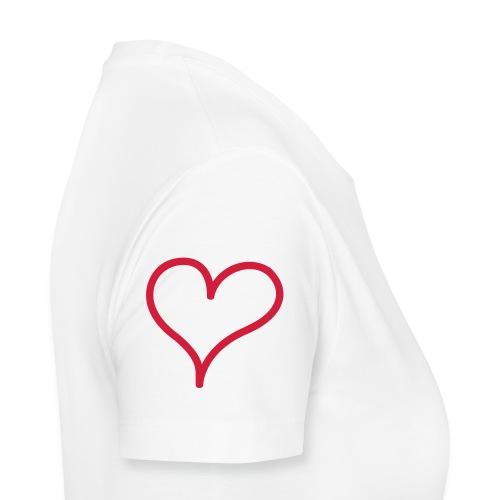 Heart on a sleeve - Women's Premium T-Shirt