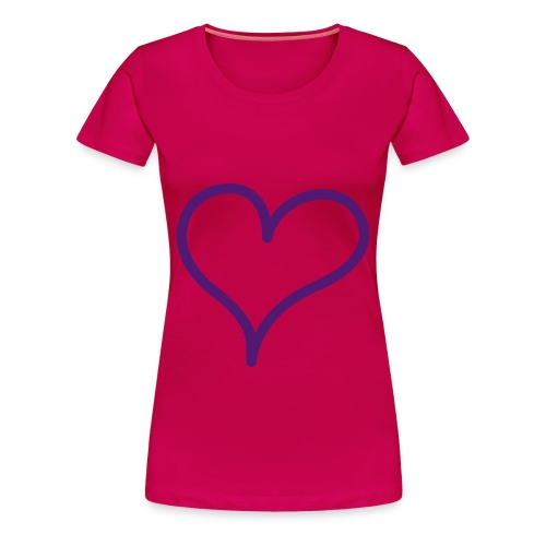 Me love - Premium T-skjorte for kvinner