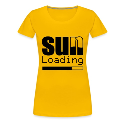 SunLoading - T-shirt Premium Femme