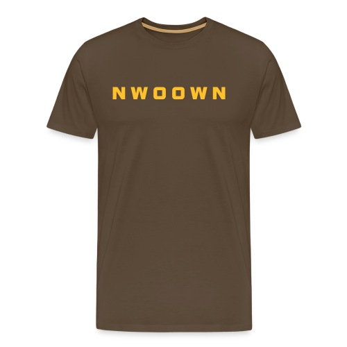 NWOOWN BROWN  - Men's Premium T-Shirt