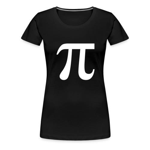 Pi-shirt (Girli) - Frauen Premium T-Shirt