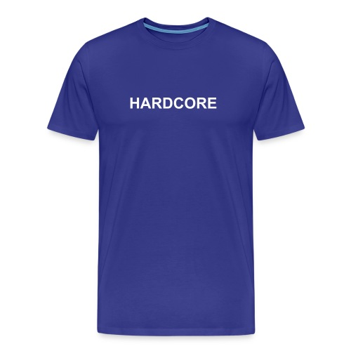 Hardcore T Blue - Men's Premium T-Shirt