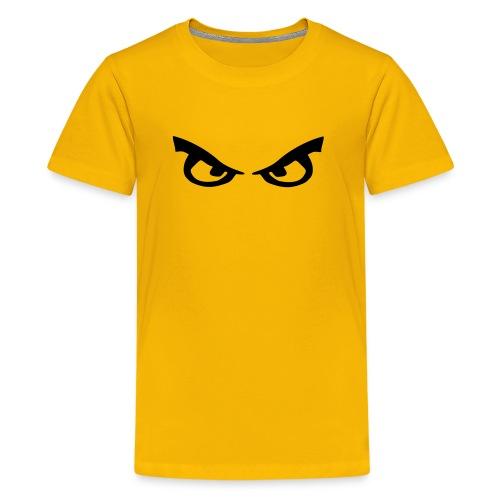 Kids Eyes Top - Teenage Premium T-Shirt