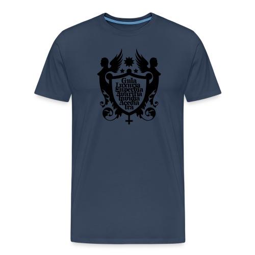 Seven. - Männer Premium T-Shirt