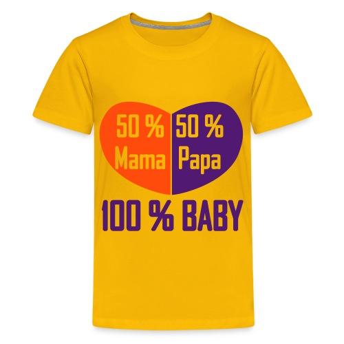 Kindershirt 100% Baby - Teenager Premium T-Shirt