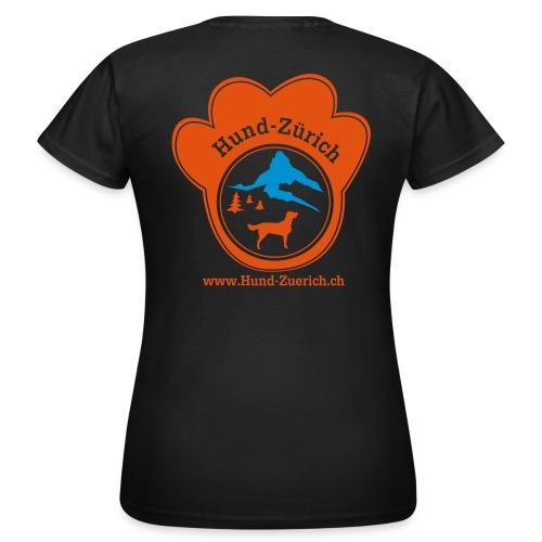 Hund-Zürich T-Shirt - Frauen T-Shirt