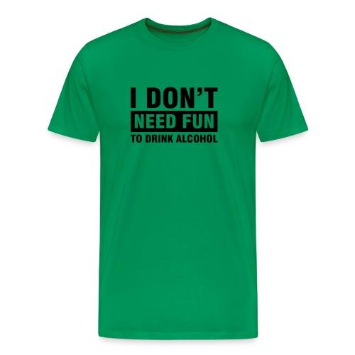 Alcohol CHOOSE YOUR COLOUR! - Men's Premium T-Shirt