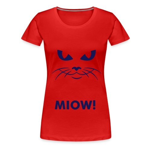 Kitty Kat - Women's Premium T-Shirt