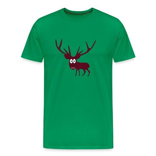 Hirvitys - Miesten premium t-paita