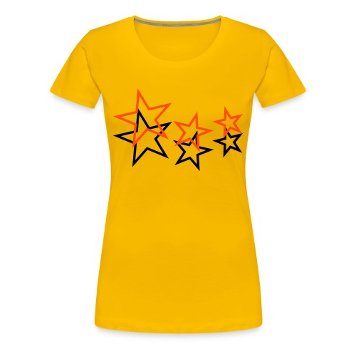 eating monkey - star II - Frauen Premium T-Shirt