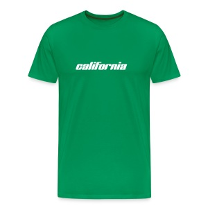 T-Shirt california bottlegreen - Männer Premium T-Shirt