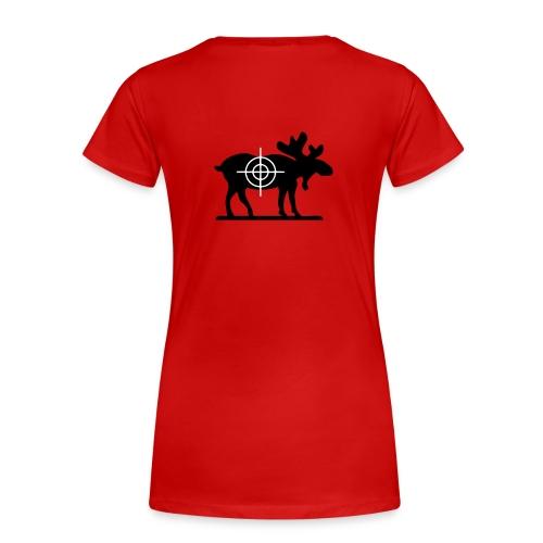 Moose lover - Premium-T-shirt dam