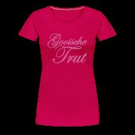 T-shirts ~ Vrouwen Premium T-shirt ~ Gooische Trut 'Glitter Edition' Girls