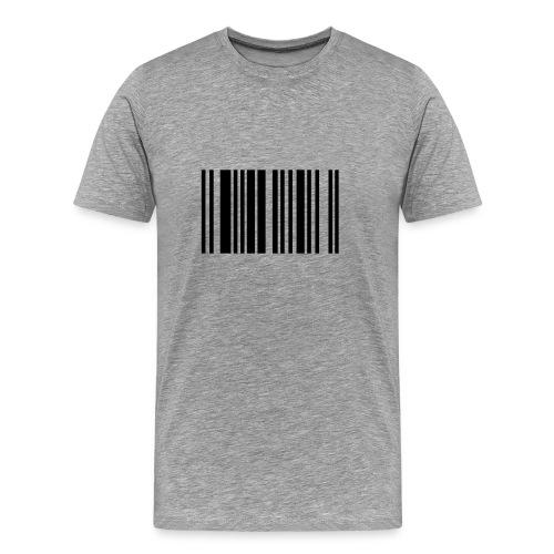 CODE (white) - Koszulka męska Premium