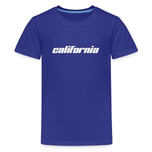 Kinder-T-Shirt california sky - Teenager Premium T-Shirt