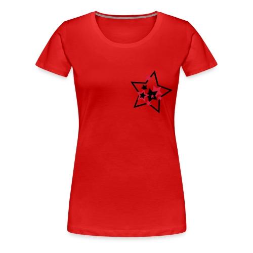 Continental klassisk damtop - Premium-T-shirt dam