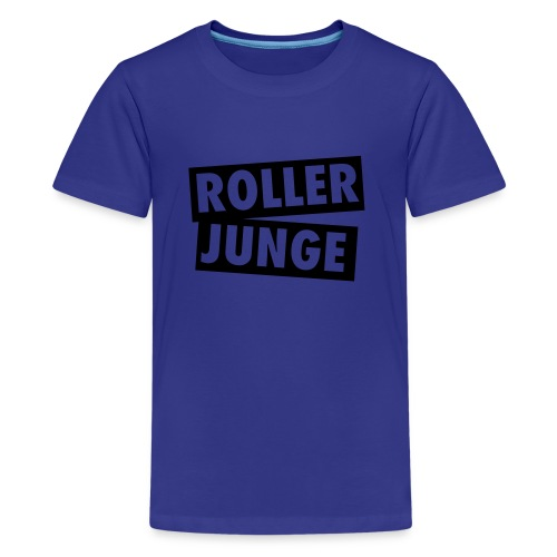 Kids Shirt Roller Junge - Teenager Premium T-Shirt