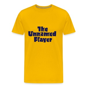 UNNAMED PLAYER TEE - Men's Premium T-Shirt