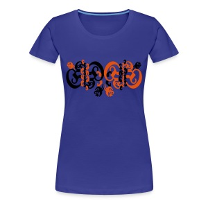 girly blackletter 2 - Frauen Premium T-Shirt
