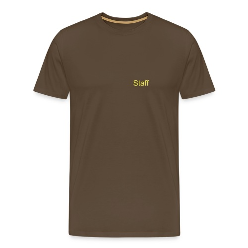 Staff T-Shirt - Men's Premium T-Shirt