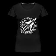 T-Shirts ~ Frauen Premium T-Shirt ~ SFCD-Logo vorne & hinten